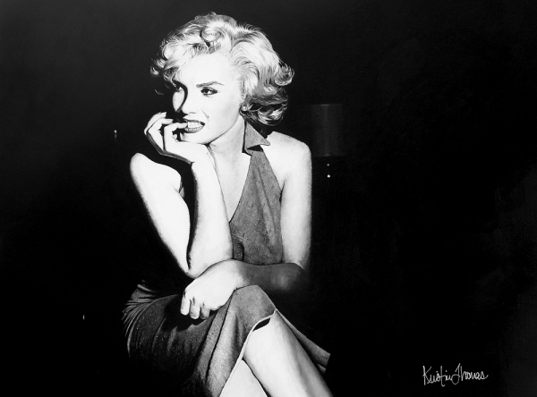 Marilyn Monroe by ArtbyKristinThomas